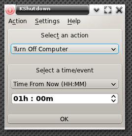 KShutdown 3.0 Beta (E17)